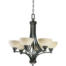 Quorum International Q620-6 Hemisphere Chandelier