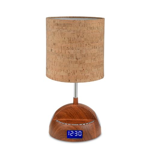 All the Rages LS1001 LighTunes 1 Light Bluetooth Speaker Desk Lamp