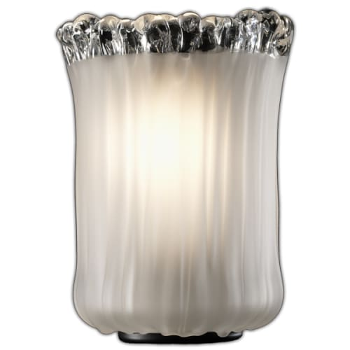 "Justice Design Group GLA-8414-16-WTFR Veneto Luce 31.5"" Union 4 Light Sale $374.00 ITEM: bci2932325 ID#:GLA-8414-16-WTFR-MBLK :"