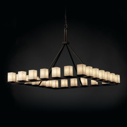 Justice Design Group CLD-8616 Montana 24 Light Ring Chandelier from
