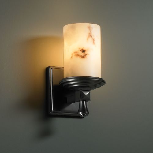 Justice Design Group FAL-8531 Deco Single Light Wall Sconce from the