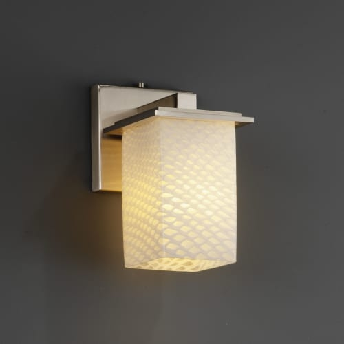 Justice Design Group FSN-8671 Montana Single Light Wall Sconce from