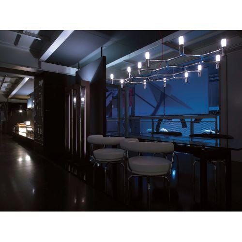 "Nemo Crown Plana 56 10 Light 56"" Wide Chandelier with Sandblasted Sale $2975.00 ITEM: bci2960143 ID#:CRO HOW 56 :"