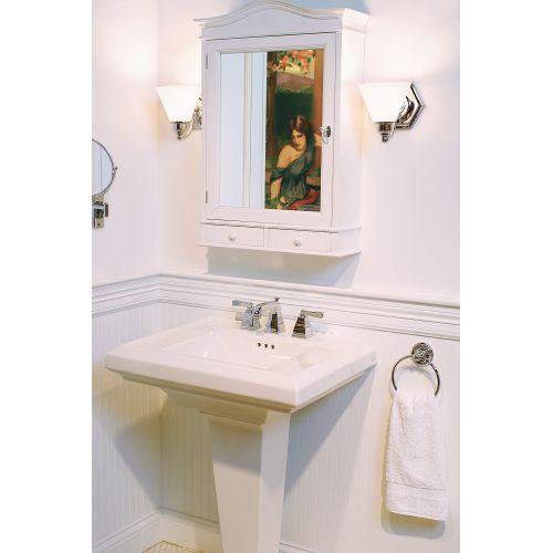 "Norwell Lighting 8531 Jenna 8"" Tall Single Light Bathroom Sconce with"