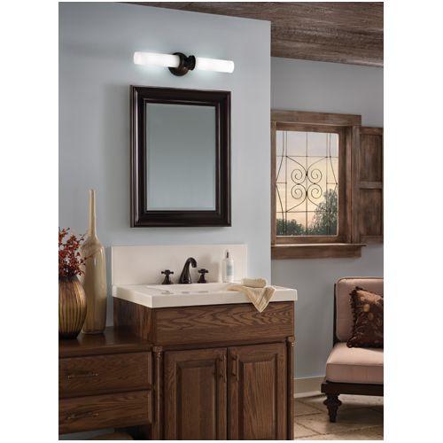 Tech Lighting 600LNDBF Linden Bath Two-Light Incandescent Bathroom
