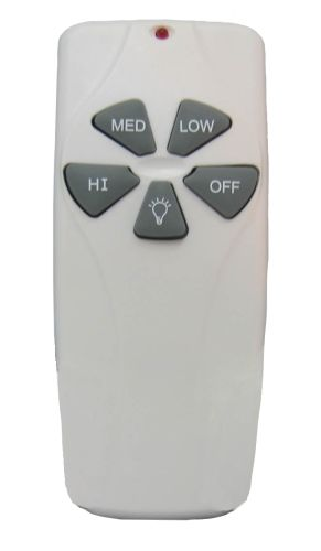Concord RM 101 S White Universal Remote Control for Use with Motors Smaller than 188mm
