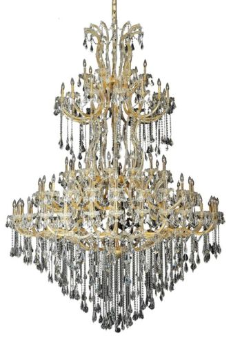 Elegant Lighting 2801G96G/SS Swarovski Elements Clear Crystal Maria