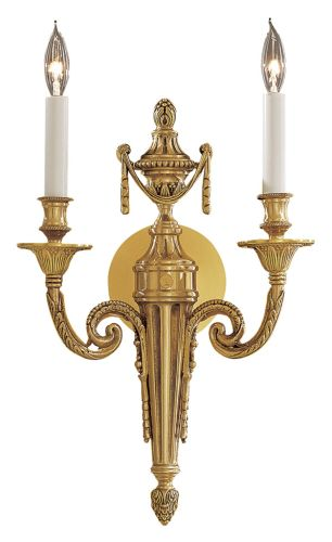 Metropolitan N1789 French Gold Metropolitan Renaissance Two Light Wall