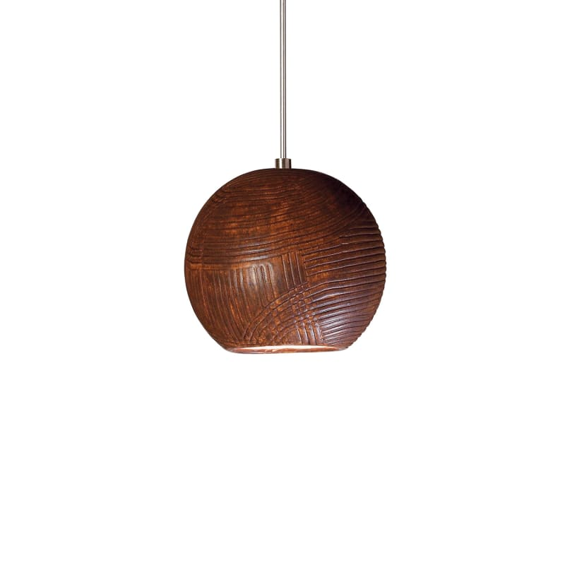 "A19 LVMP01 ""Twine"" One Light Mini Pendant from the Studio Collection"