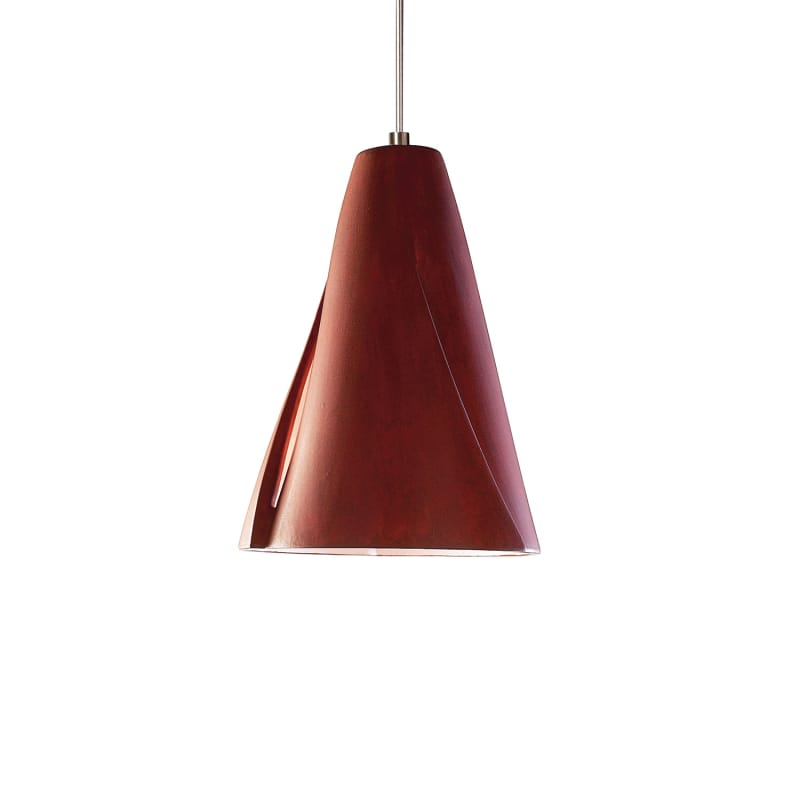 "A19 LVMP05 ""Whirl"" One Light Mini Pendant from the Studio Collection"