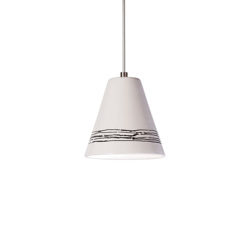 "A19 LVMP15 ""Strands"" One Light Mini Pendant from the Islands of Light"