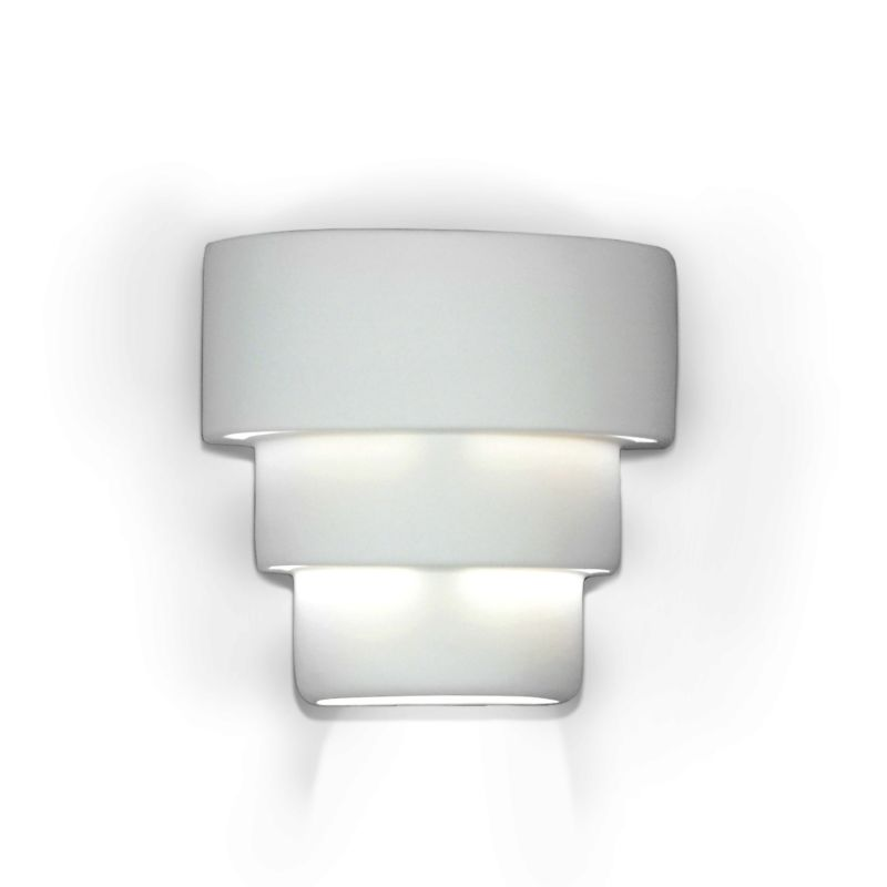 "A19 1403 One Light 9.75"" Wide Bathroom Fixture from the Islands of"