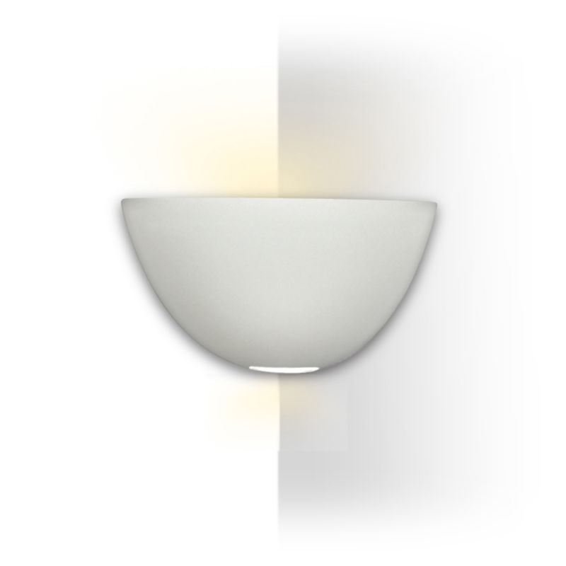 "A19 304CNR Modern Corner Sconce ""Gran Aegina"" Round Wall Light from"