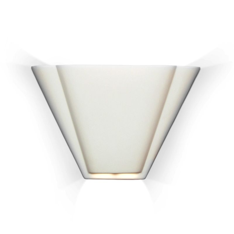"A19 700 Contempory Art Deco Sconce ""Nova Scotia"" Ceramic Lighting from"