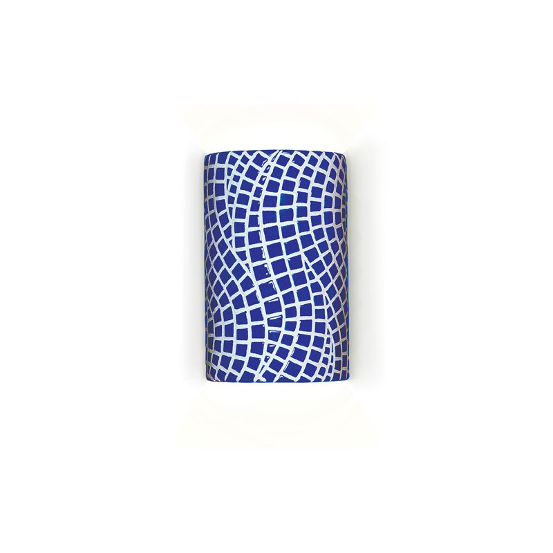 """A19 M20302 """"Channels"""" One Light Wall Sconce from the Mosaic Collection"""