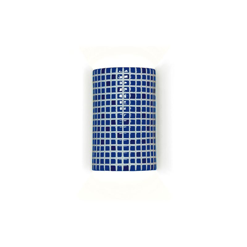 """A19 M20308 """"Confetti"""" One Light Wall Sconce from the Mosaic Collection"""