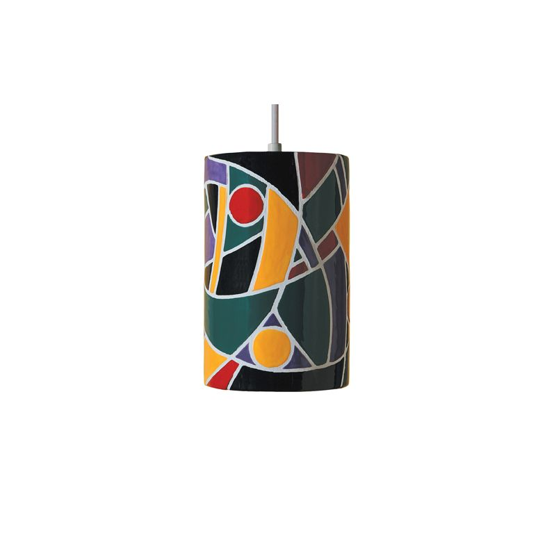 "A19 PM20303 ""Picasso"" Single Light Pendant from the Mosaic Collection"