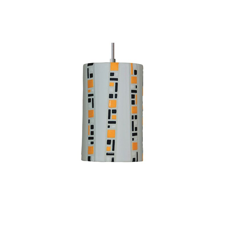 "A19 PM20310 ""Ladders"" Single Light Pendant from the Mosaic Collection"