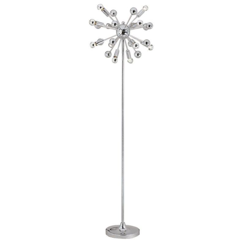"AF Lighting 5691-FL Elements Series ""Supernova"" Floor Lamp with"