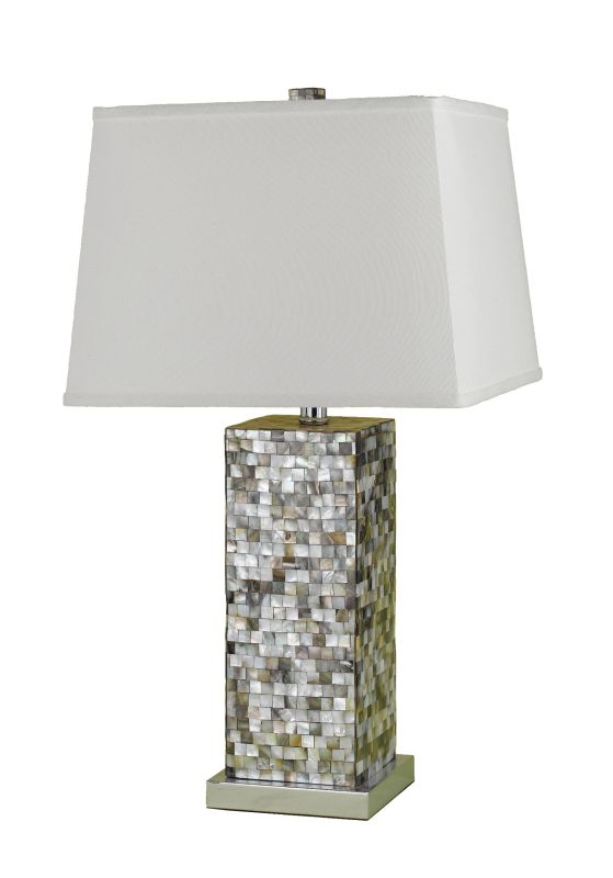 "AF Lighting 6671-TL Candice Olson ""Sahara"" Table Lamp with Linen"