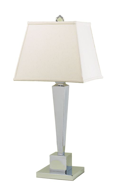 "AF Lighting 6774-TL Candice Olson ""Margo"" Table Lamp with Cream Poly"