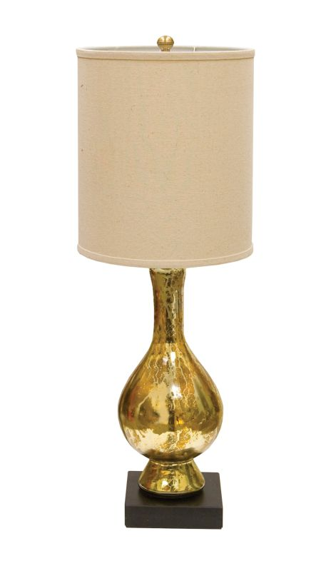 "AF Lighting 7721-TL Candice Olson ""Aurora"" Antique Glass Table Lamp"