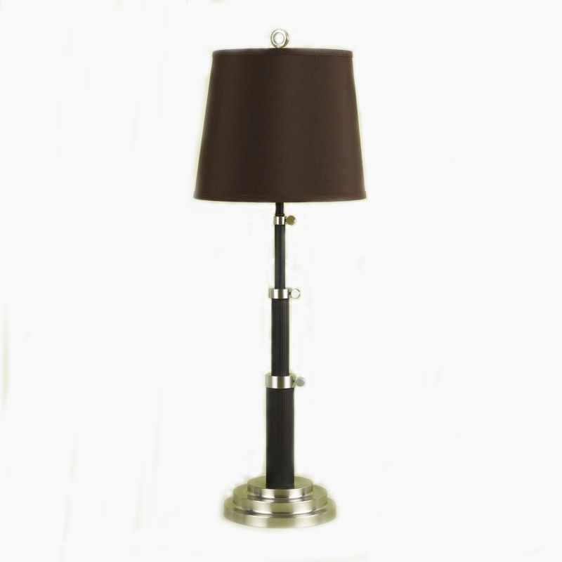 "AF Lighting 7803-TL Candice Olson ""Scope"" Table Lamp with Chocolate"