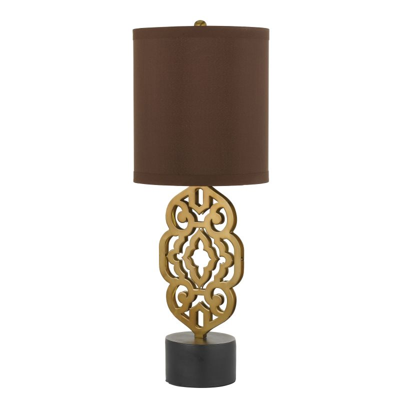 "AF Lighting 8104-TL Candice Olson ""Grill"" Table Lamp with Chocolate"
