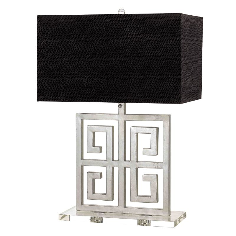 "AF Lighting 8299-TL Horizon Series ""Santorini"" Table Lamp with Black"
