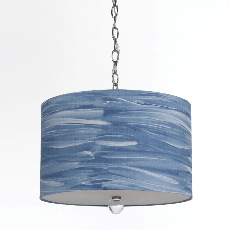"AF Lighting 8319-3H Horizon Series ""Water Color Coast"" Pendant with"