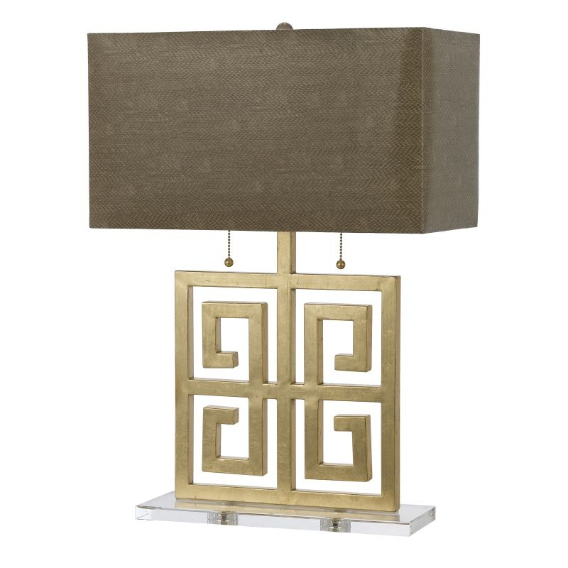 "AF Lighting 8463-TL Horizon Series ""Santorini"" Table Lamp with Natural"