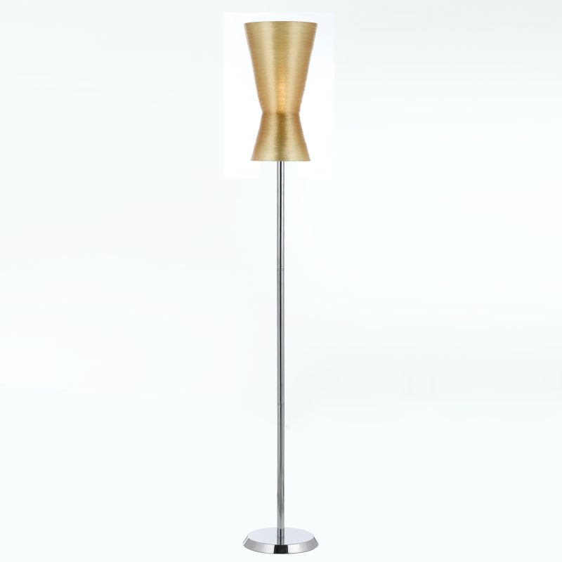 "AF Lighting 8584-FL Aimee 62"" Height 1 Light Floor Lamp Chrome Lamps"