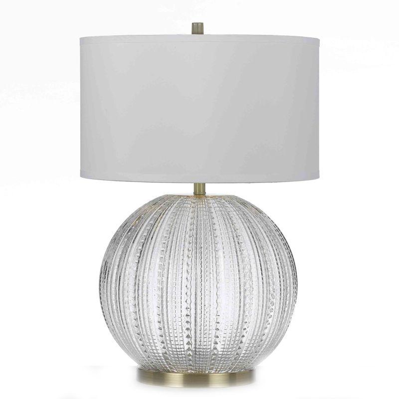 "AF Lighting 8723-TL Vapor 26.5"" Height 1 Light Table Lamp Satin Brass"