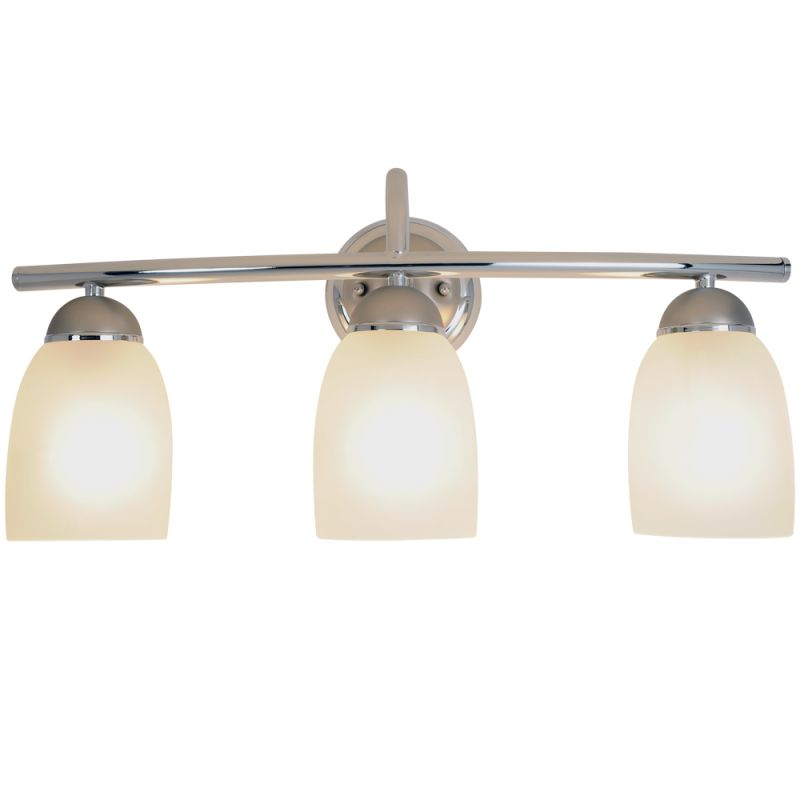 Vanity Light Upside Down : AF Lighting 617509 Polished Chrome with Brushed Nickel Accents 3 Light Down Light Bath Vanity ...