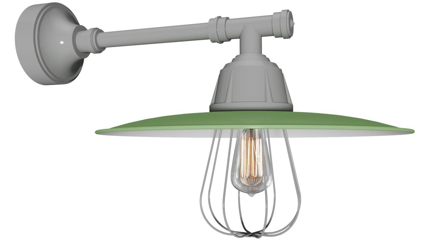Anp Lighting Eu918 10 E35ur16 Aspen Green Retropolitan
