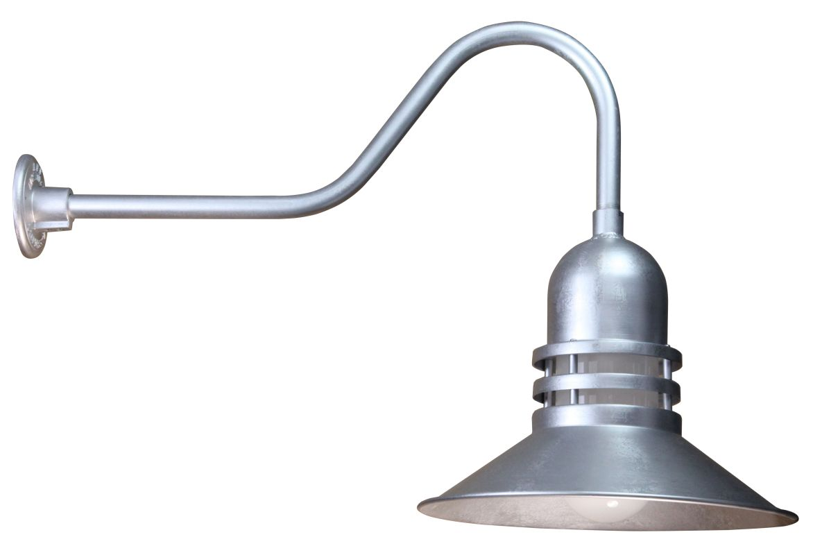 Anp Lighting Orb216 Fr 49 E6 49 Galvanized Rlm Spun