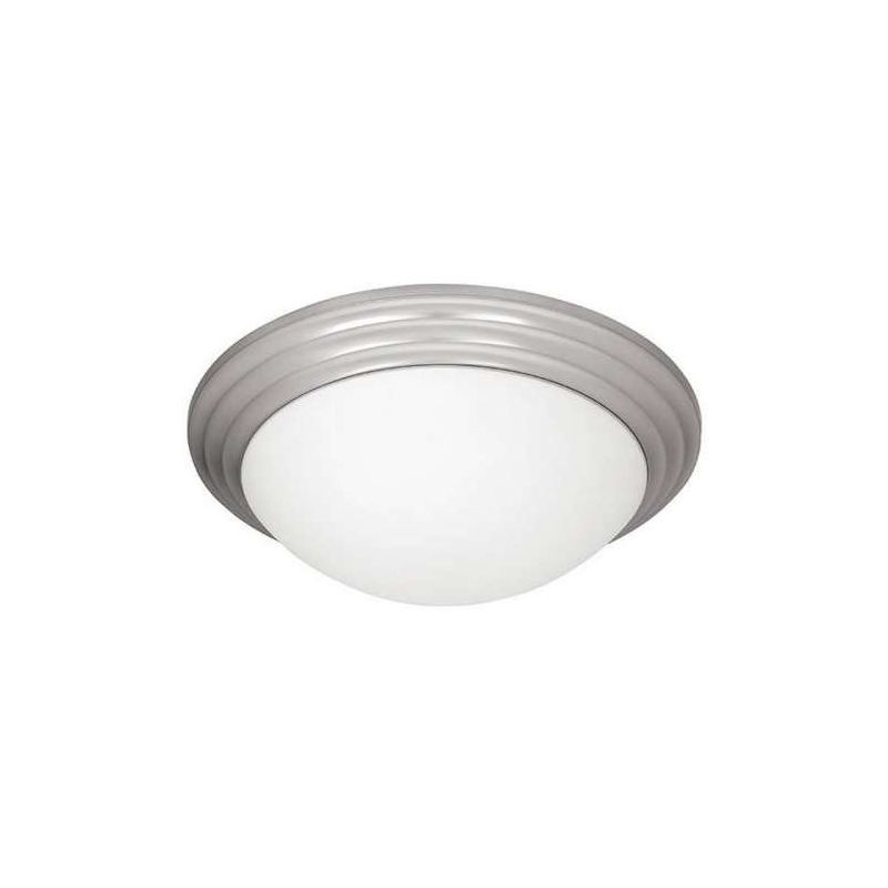 Access Lighting 20650-BS/OPL Steel Contemporary Strata Ceiling Light