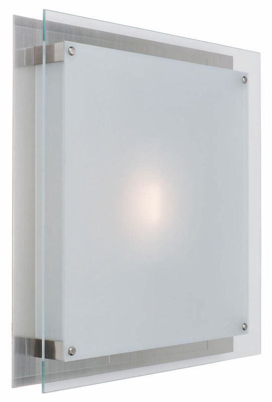 Access Lighting 50031 Vision 1 Light Flush Mount Ceiling Fixture