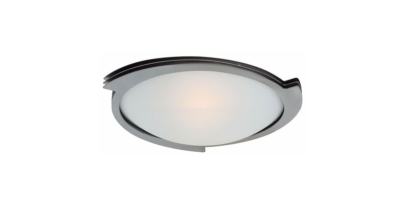 Access Lighting 50072 Triton 1 Light Flush Mount Ceiling Fixture