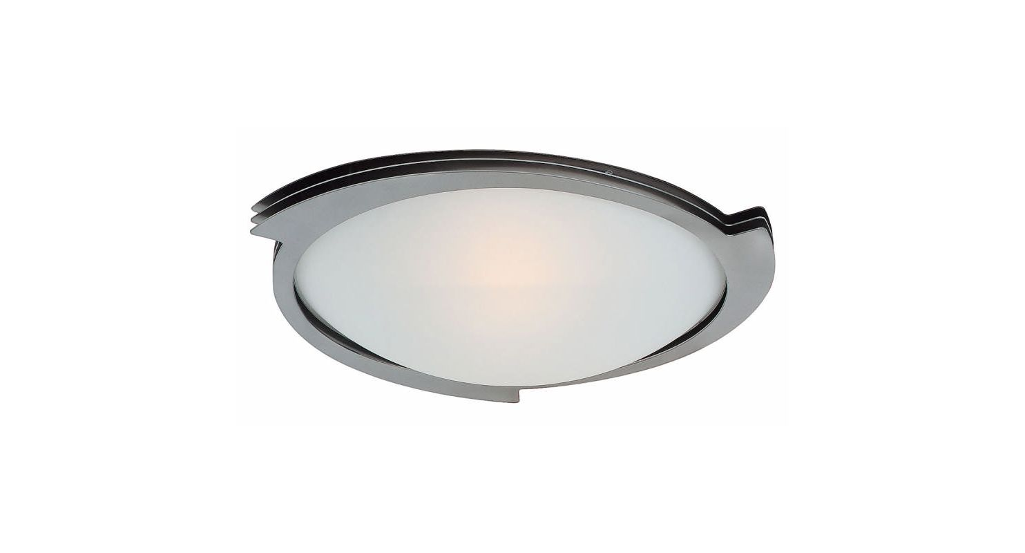 Access Lighting 50073 Triton 1 Light Flush Mount Ceiling Fixture