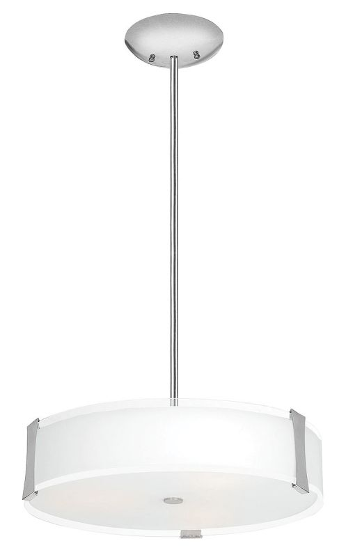 Access Lighting 50123-BS/OPL Brushed Steel Contemporary Tara Pendant