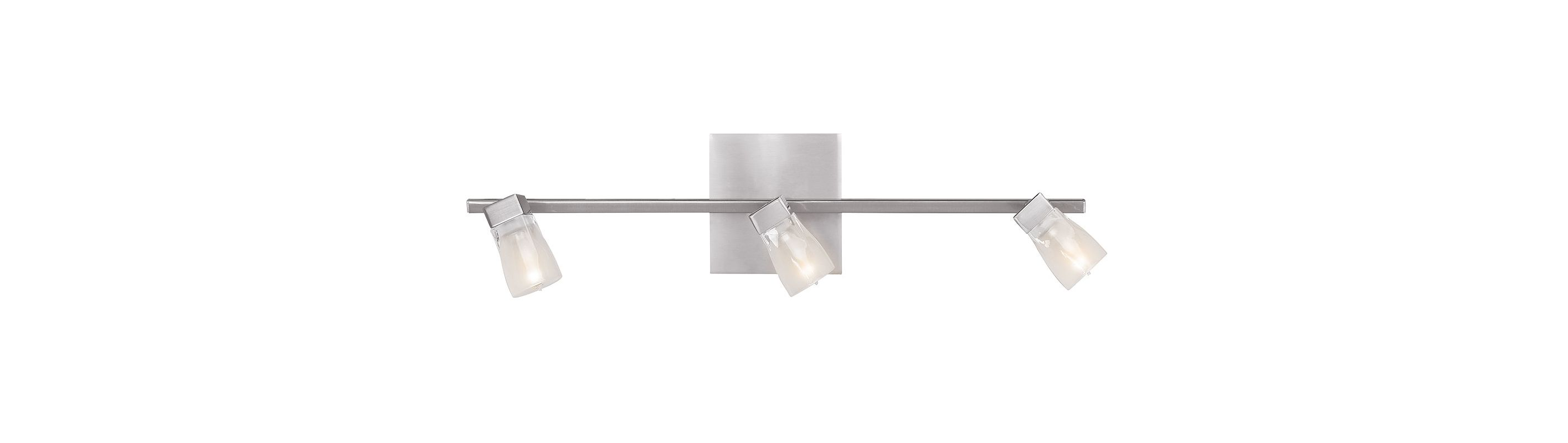 Access Lighting 52142-BS/FCL Steel Contemporary Ryan Wall Sconce