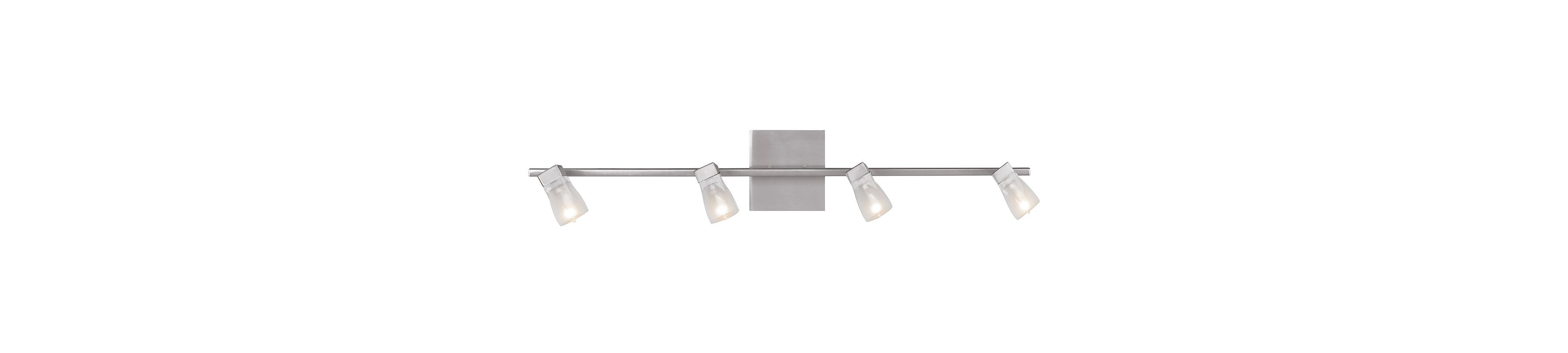 Access Lighting 52144-BS/FCL Steel Contemporary Ryan Wall Sconce