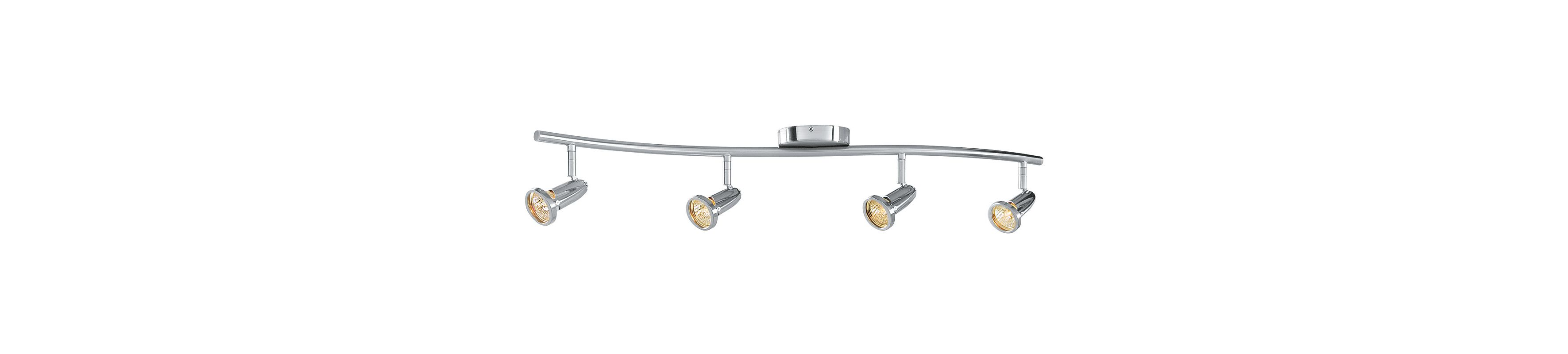 Access Lighting 52204 Cobra 4 Light Ceiling or Wall Spotlight Brushed