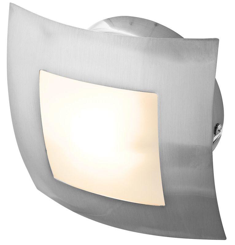 Access Lighting 53342 Argon 1 Light Semi-Flush Ceiling Fixture Brushed