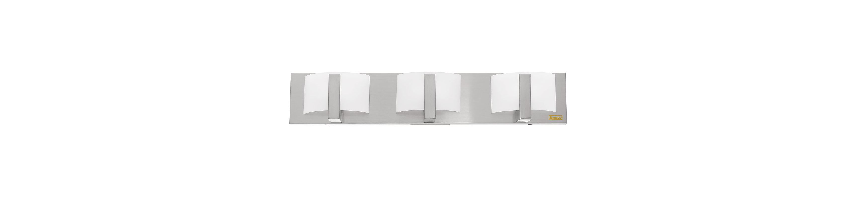 "Access Lighting 62033 Three Light 24"" Wide Bathroom Fixture from the"