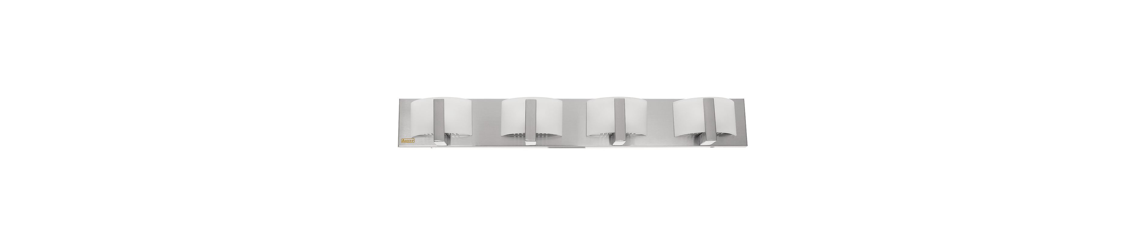 "Access Lighting 62034 Four Light 32"" Wide Bathroom Fixture from the"