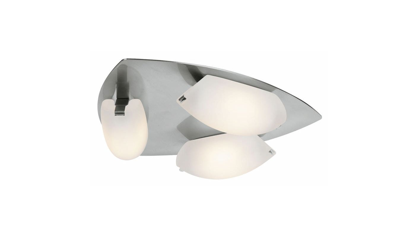 Access Lighting 63953 Nido 3 Light Flush Mount Ceiling Fixture Matte
