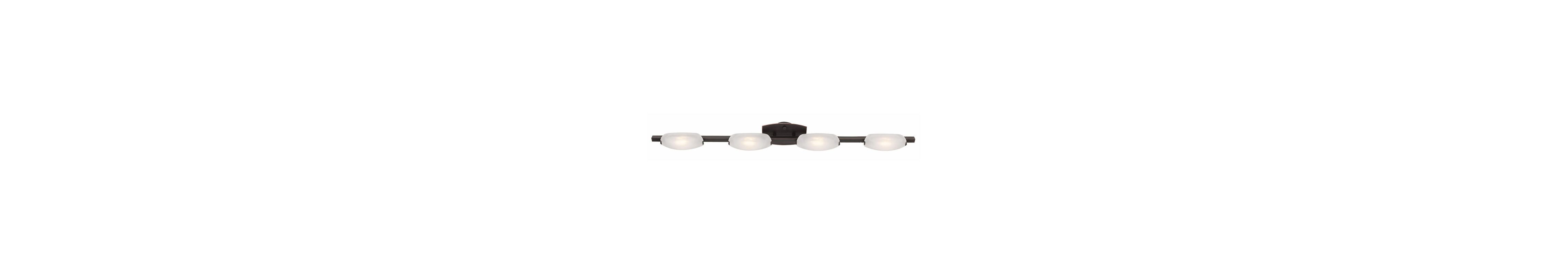 "Access Lighting 63961 Four Light Down Lighting 49"" Wide Bathroom"
