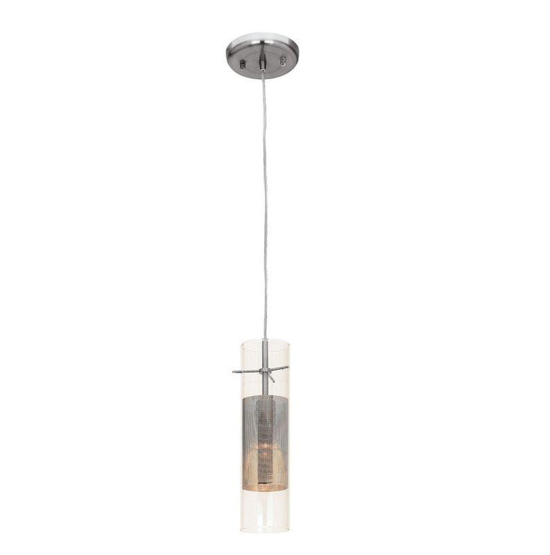 Access Lighting 50525-BS/CLM Steel Contemporary Spartan Pendant